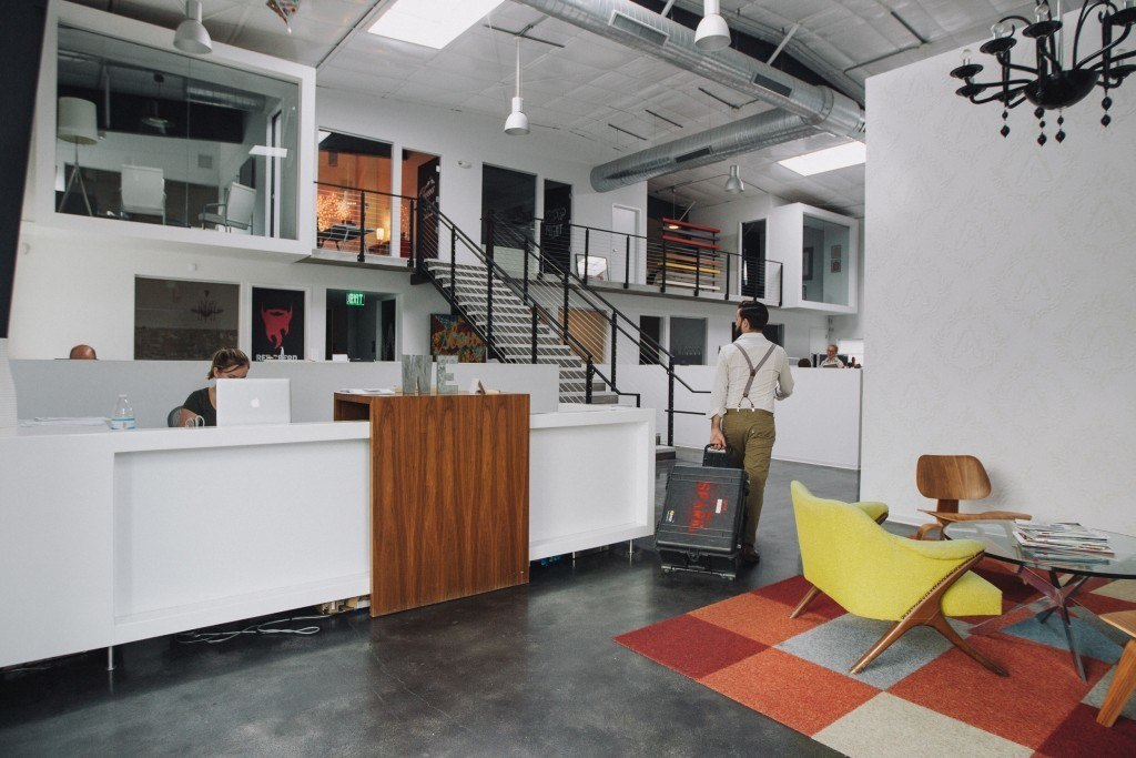 Interior view of SPARK offices